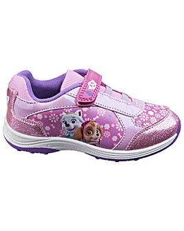 Paw Patrol Touch Fastening Girls Trainer