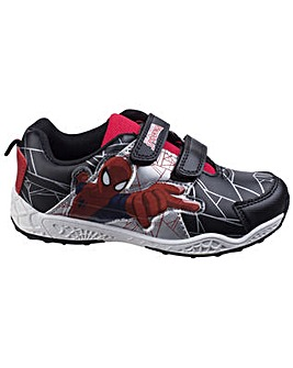 Spiderman Touch Fastening Boys Trainer