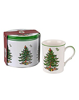 Portmeirion Mug & Tin Set