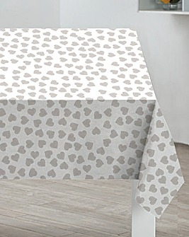 Sabichi Hearts PVC Table Cloth