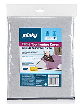 Minky Table Top Iron pad and Hanger