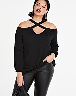 Strappy Bardot Top