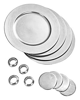 12pc Charger Plate Set