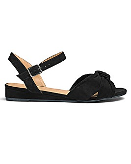 Wedge Sandal E Fit