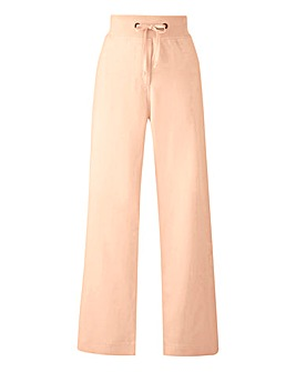 Slouch Linen Mix Trouser Long