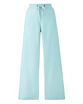Slouch Linen Mix Trouser Long