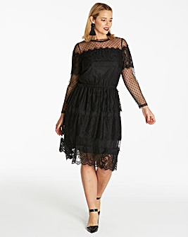 Lace Layered Dress