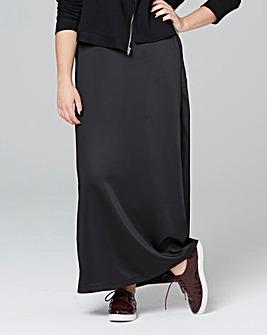 Satin A Line Maxi Skirt