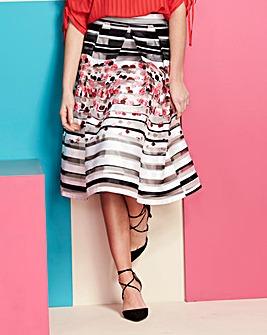 Stripe Prom Skirt