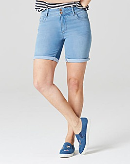 Bleachwash Shape & Sculpt Denim Shorts