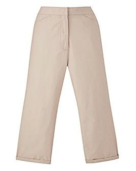 Value Cotton Crop Trouser