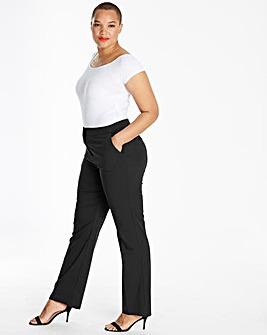 Petite Magi Straight Tailored Trousers
