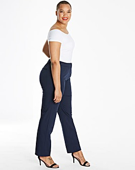 Magisculpt Tapered Leg Trousers Short
