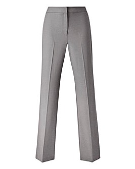 Tailored Straight Leg Trousers Long