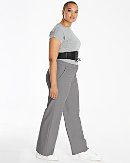 Tailored Wide Leg Trousers Regular