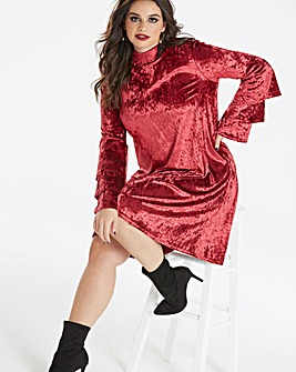 Simply Be by Night Velvet Swing Dress