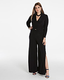Simply Be By Night Wrap Front Top
