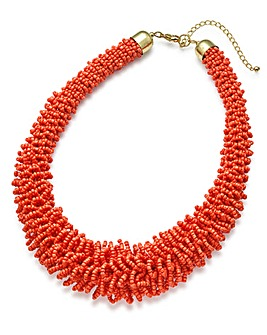 Frazzle Beaded Necklace