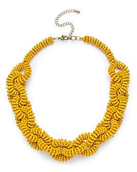 Twist Bead Necklace