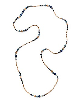 Facet Beaded Necklace