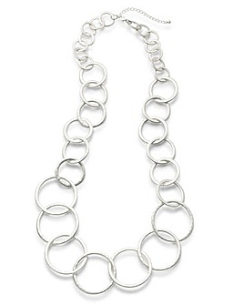 Concept by JDW Hoop Necklace