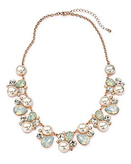 Joanna Hope Pearl Flower Necklace