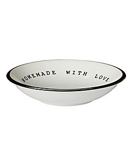 Homemade with Love Set of 4 Pasta Bowls
