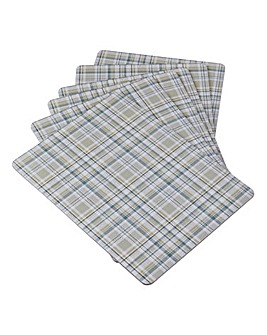 Denby Elements Placemats Natural/Grey