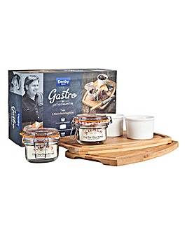 Denby James Martin Gastro Pate Kit Set