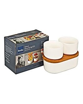 Denby James Martin Serve Stacking Set