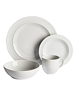 White by Denby 16-Piece Dinner Set