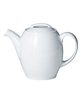 White by Denby Teapot