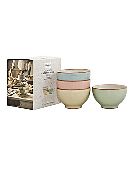Deli by Denby 4pc Small Bowl