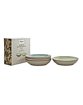 Deli by Denby 4pc Pasta Bowls