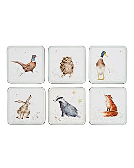 Wrendale Coasters Set of 6