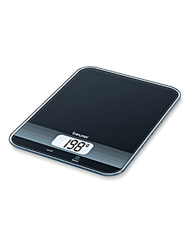 BEURER Black Glass Kitchen Scale