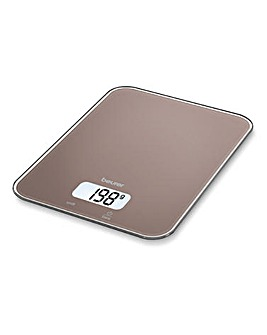 BEURER Toffee Glass Kitchen Scale