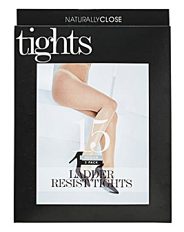 3 Pack 15 Denier Ladder Resist Tights