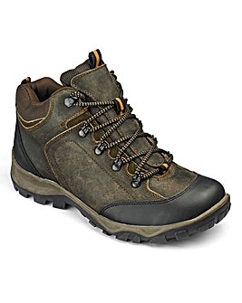 Mens Leather Walking Boots