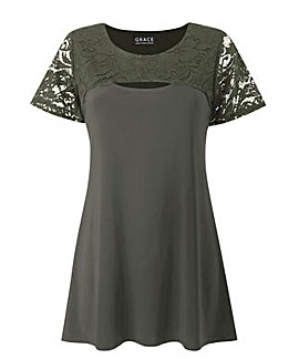 Grace Made in Britain keyhole tunic