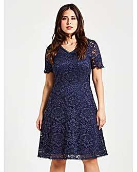 Celuu Natasha Lace Dress