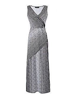 Grace Made in Britain striped maxi