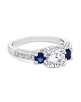Jon Richard Scatter Stone Ring