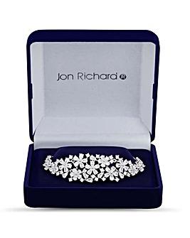 Jon Richard Floral Toggle Bracelet