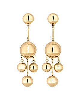Mood Gold Orb Drop Earring