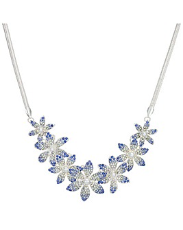 Mood Crystal Flower Necklace