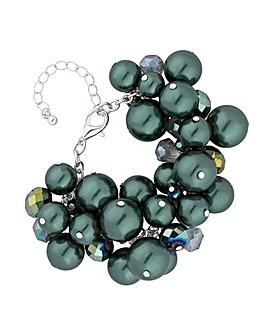 Mood Green Pearl Bracelet