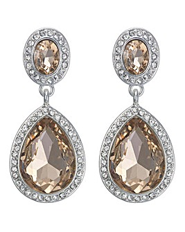 Mood Crystal Teardrop Earring