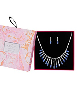 Mood Crystal Jewellery Set In A Gift Box