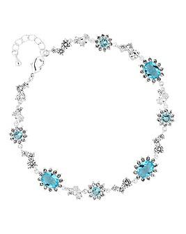 Alan Hannah Aqua Halo Bracelet
